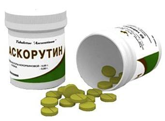 състав на аскорутин