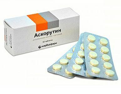 таблете аскорутин