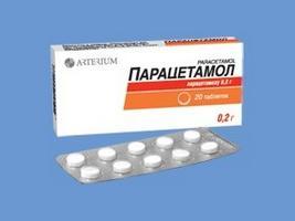 tabletki z paracetamolem dla dzieci