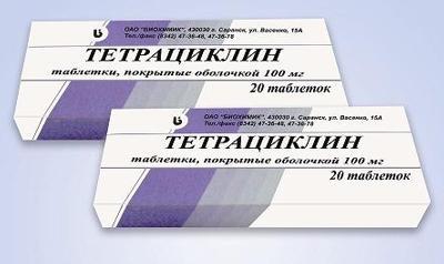 tabletki tetracyklinowe