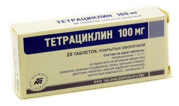 forma uwalniania tetracykliny