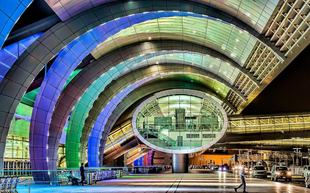 Терминал 3 до аеродрома Дубаи