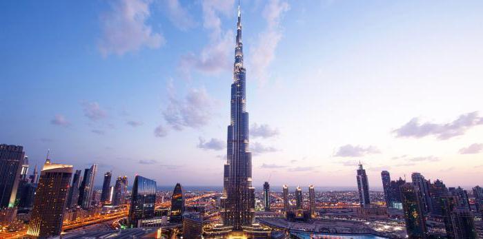 Burj Khalifa Tower a Dubai