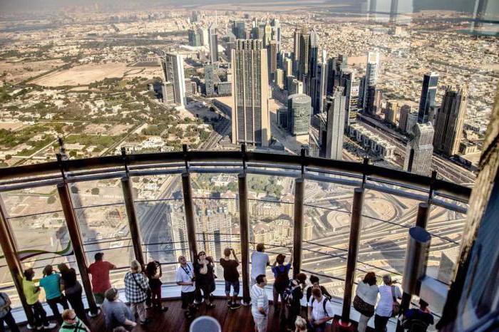 altezza del burj khalif a dubai