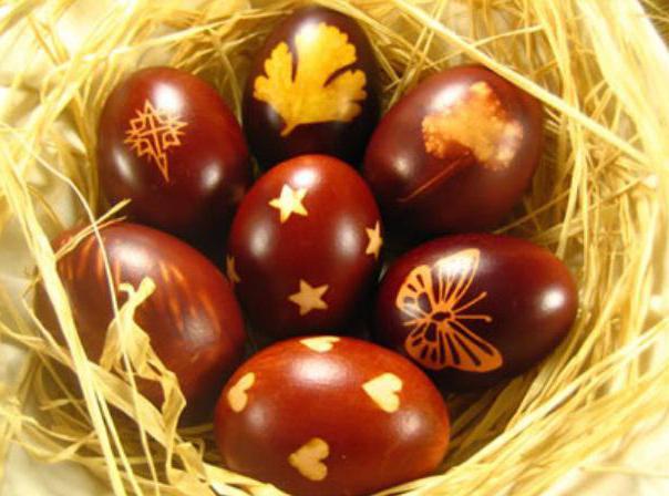 Decorazione di Pasqua con le uova