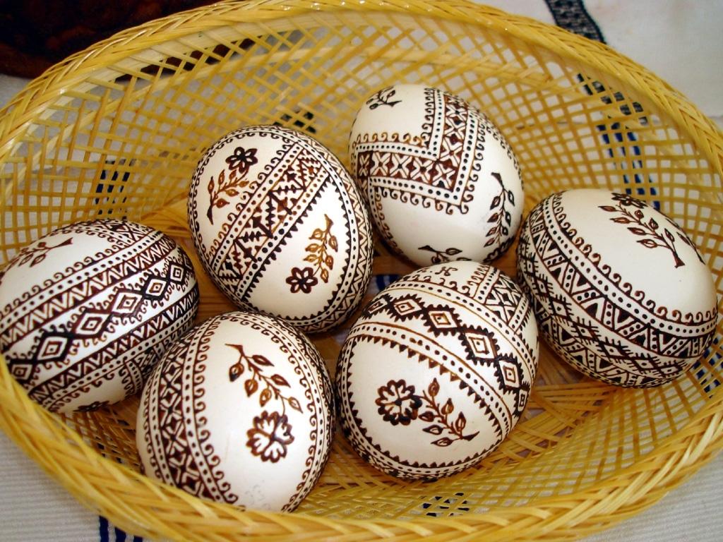 decoupage uova di pasqua