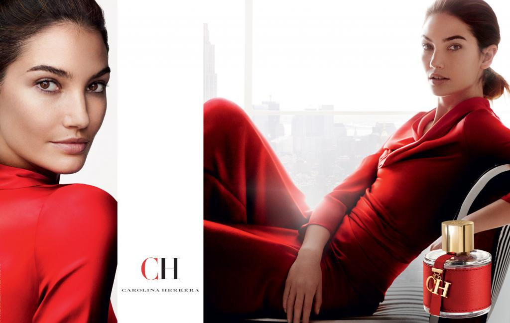 Лили Олдридж в CH Advertising от Каролина Ерера