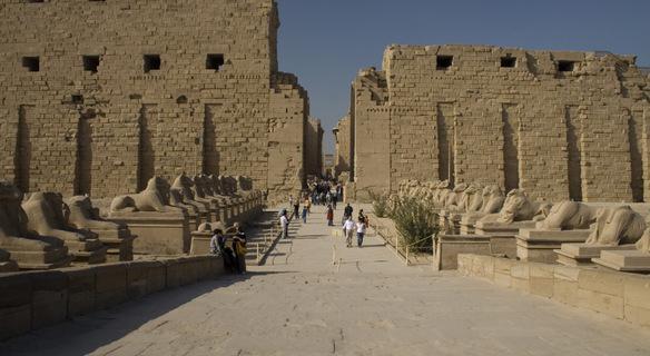 Египет Храмът Луксор Карнак
