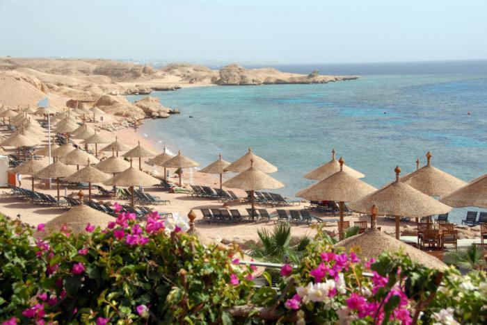 Egitto.  Località del Mar Rosso