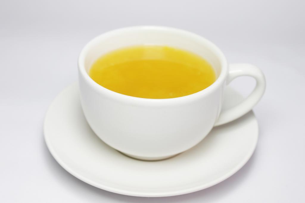 kako narediti rumeni čaj