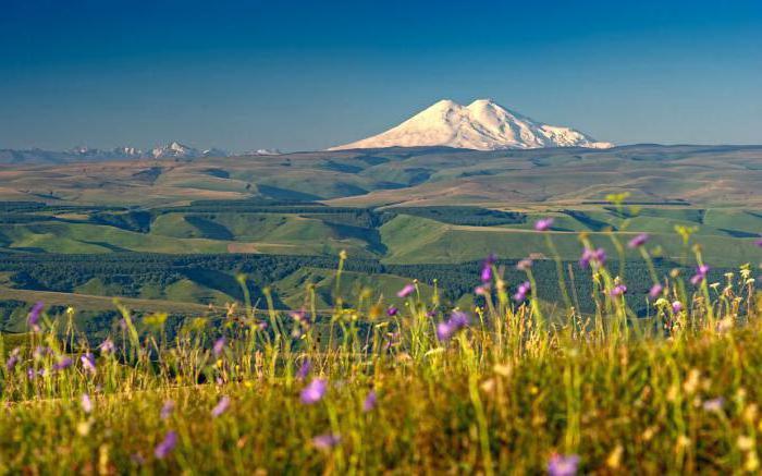 висина планине Елбрус