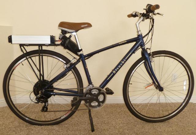 kit per bici elettrica con batteria