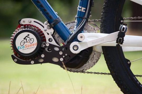 kit di montaggio bici elettrica