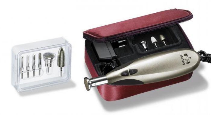 Elektryczny zestaw do manicure i pedicure beurer