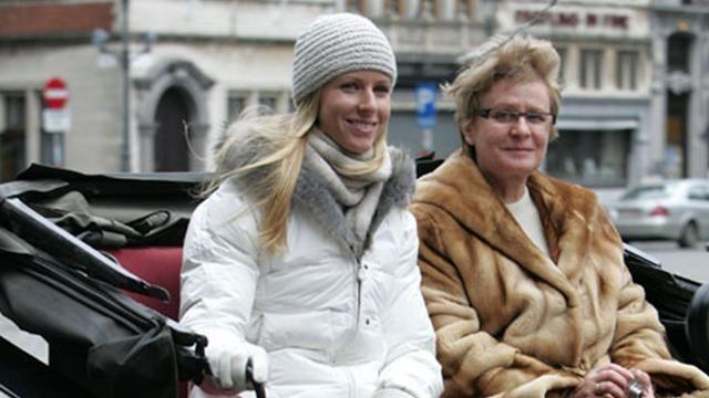 Elena Dementieva s mamom