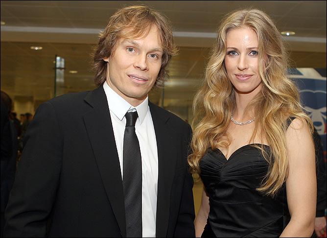 Elena Dementieva i Maxim Afinogenov