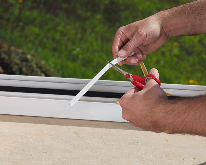 zamjena brtve u plastičnim prozorima