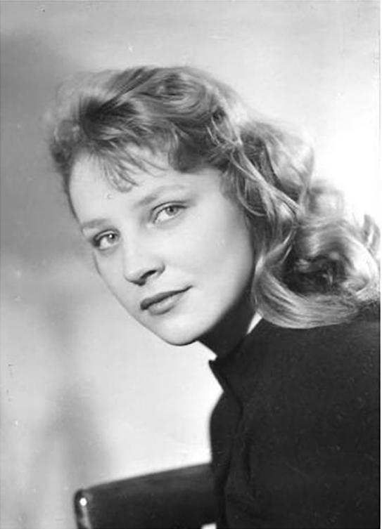 herečka elsa lezdey v jejím mládí