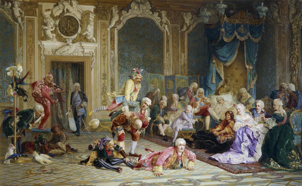 на суду Анна Иоанновна