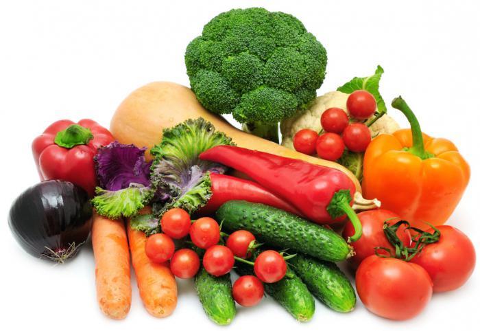 prehranske in energetske vrednosti