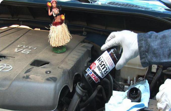 czyści silnik