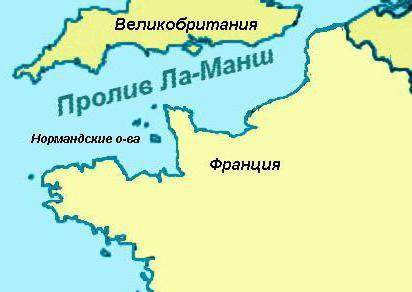 kde je kanál La Manche