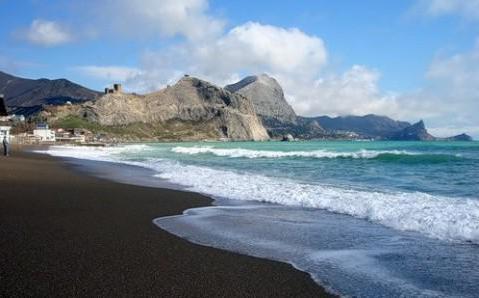 fotografija plaže zander