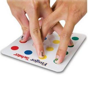 Pravila igre za prste