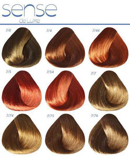 Estel Deluxe barva paleto barv po številkah