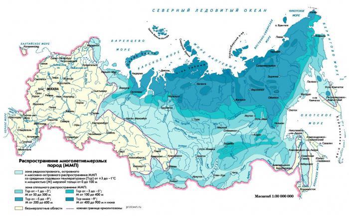 profondità del permafrost