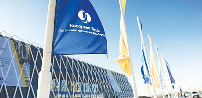 aktivnosti Europske banke za obnovu i razvoj