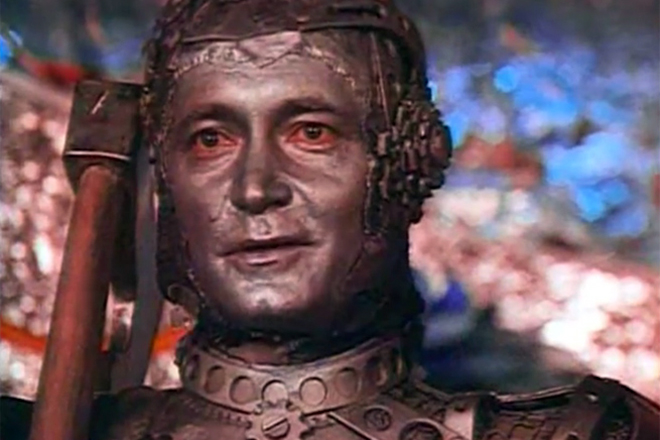 Евгений Герасимов в ролята на Tinman