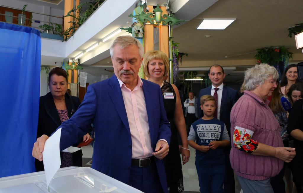 Evgeny Savchenko nelle elezioni