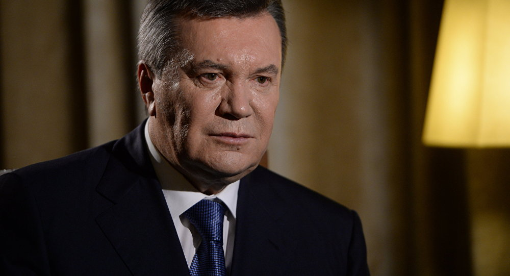 Kje je zdaj Janukovič