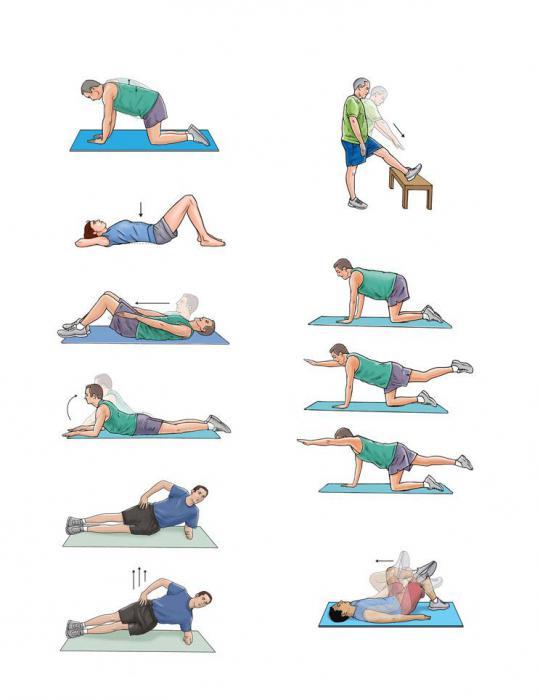 esercizi per la lombalgia
