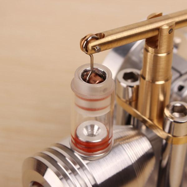 Modello moderno di motore a combustione esterna