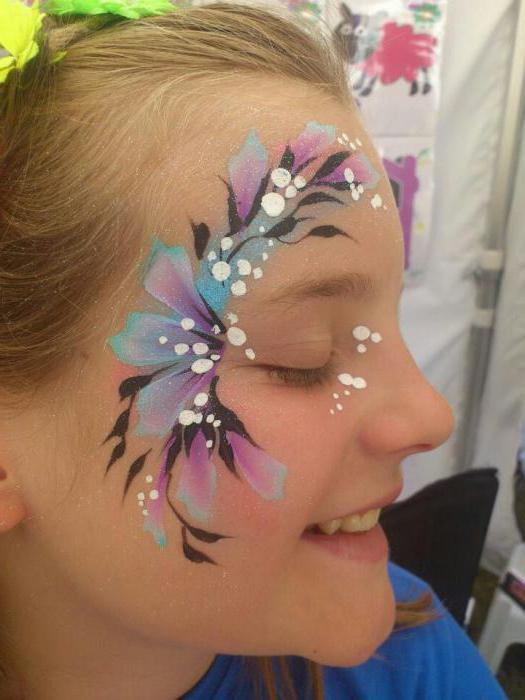 боядисване на лице с лицева живопис