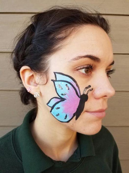 рисуване на пеперуди