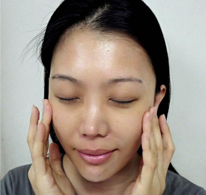 masáž obličeje doma