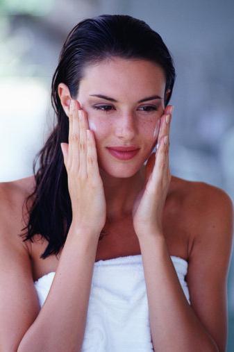 masáž pleti na obličej