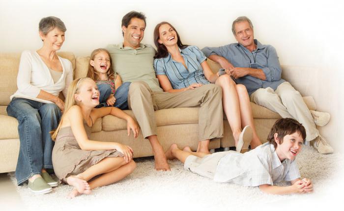 карактеристике породичних односа