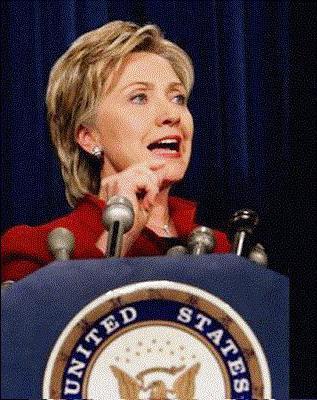 ženska predsednica ZDA