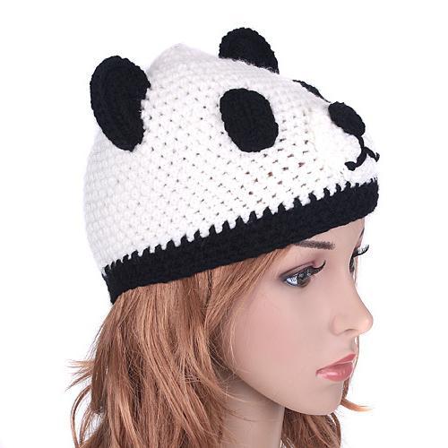 panda di tappi per maglieria