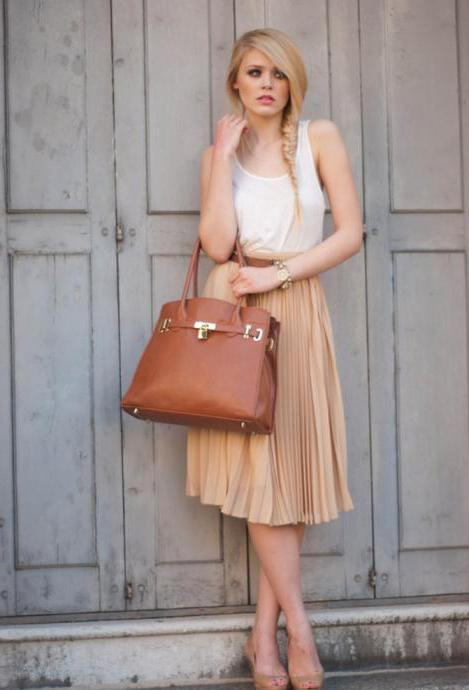 лонг цхиффон сукња