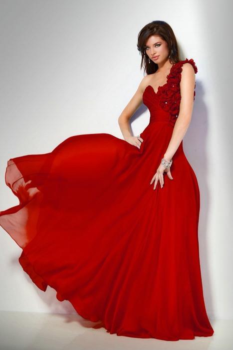 koupit červené šaty