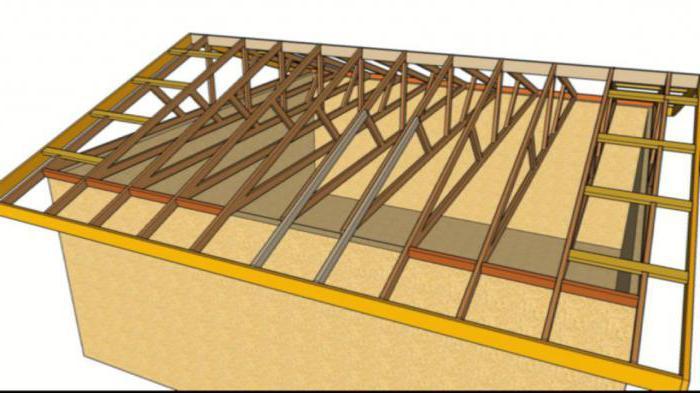 montážní krokve na mauerlatovou střechu