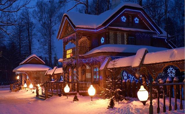 резиденция на Дядо Коледа в Беловежска пуща