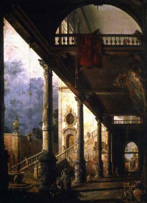 Venezia.  loggia