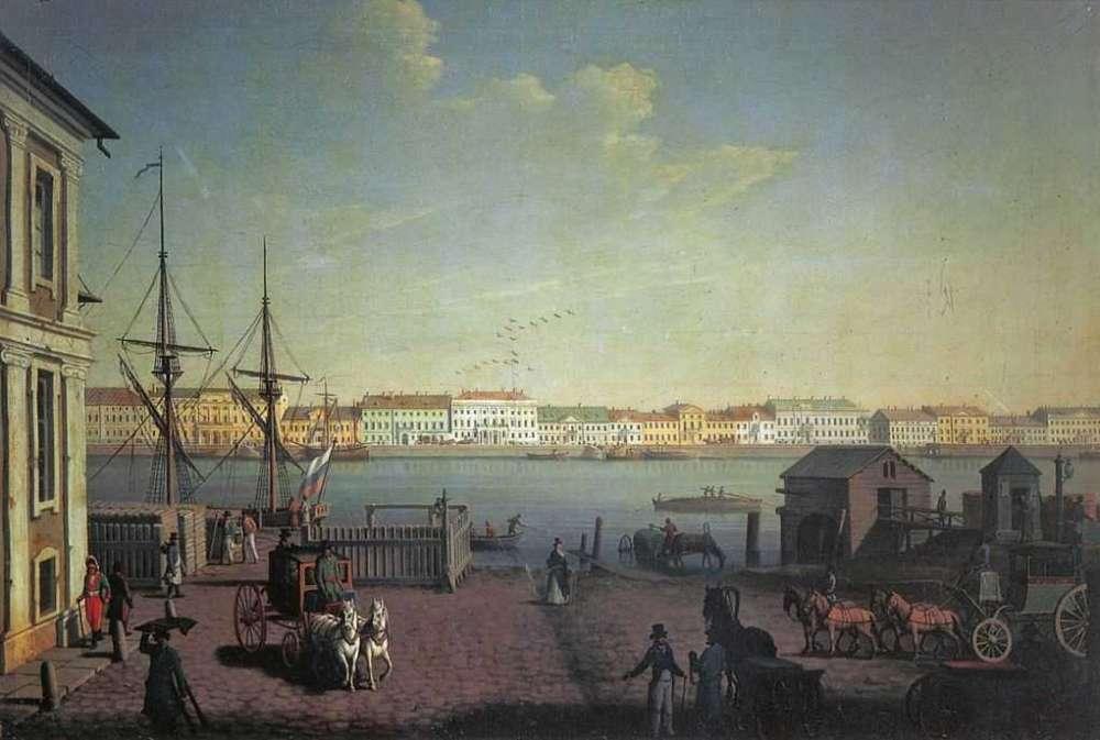 Veduta di Pietroburgo