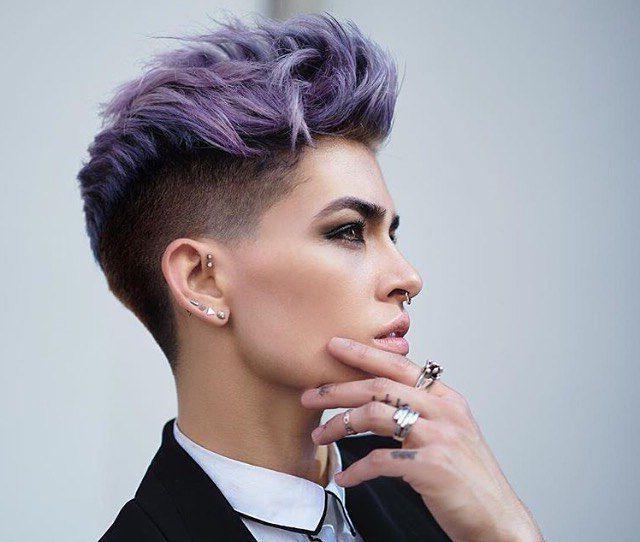 pixie frizura za okrogel obraz